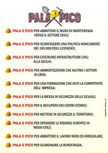 PALA E PICO volantone A4 RETRO