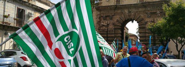 Edilizia in ginocchio, protesta a Palermo.