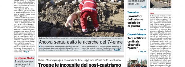 FERMI I CANTIERI DELLA NORD-SUD. ESPLODE LA PROTESTA.